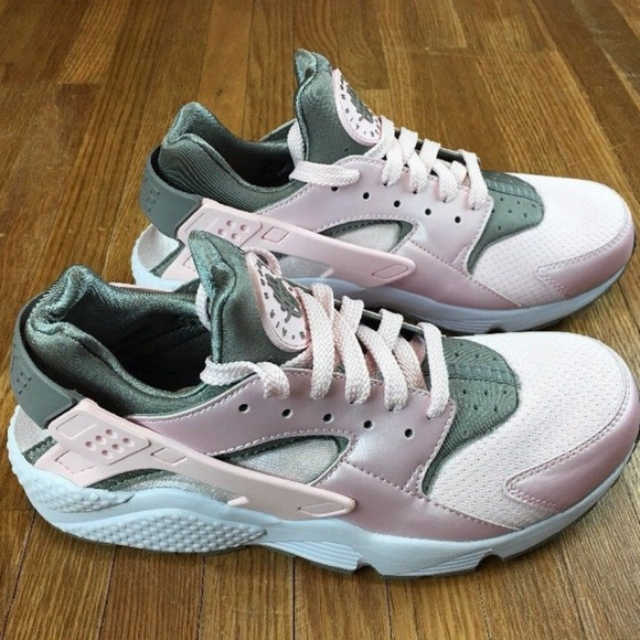d375f2ed24a8 Nike Air Huarache Mens Running Shoes Pink Dusty. M 5ad364e072ea883a214ec275